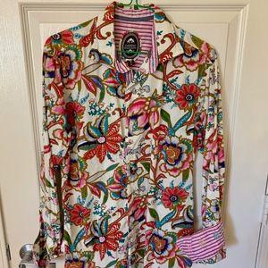 Ganesh Men's Long Sleeve Italian Shirt M